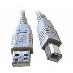 USB kábel typu AB, dĺžka 2m