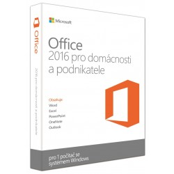 Office 2016 pre domácnosti a podnikateľov SK