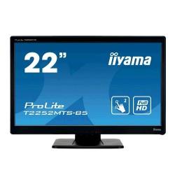 """22"""" iiyama T2252MTS-B5 -2ms,250cd,FullHD,16:9,VGA,DVI-D,HDMI,USB,repro,dotykový"""