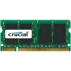 SO-DIMM 1GB DDR2 800 MHz Crucial CL6