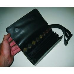 Čašnícka peňaženka s opaskom - KOŽENÁ